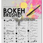 دانلود 30 براش بوکه فتوشاپ حساس به فشار Bokeh Photoshop Brushes