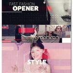دانلود پروژه پریمیر اینترو فیلم و عکس فشن Fast Fashion Opener
