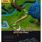دانلود پلاگین فتوشاپ ساخت نقشه بازی های کامپیوتری Game Map Generator V1.02