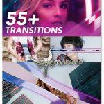 دانلود پروژه پریمیر ۵۶ ترانزیشن آماده زیبا و حرفه ای MotionArray Transitions