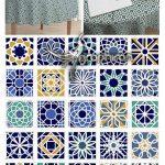 دانلود طرح های پترن موزاییکی عربی Mosaic Seamless Patterns Vector Set