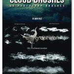 دانلود 40 براش جدید ابر برای فتوشاپ Cloud Brushes for Photoshop