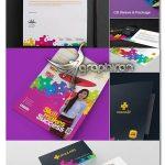 دانلود طرح لایه باز ست اداری کامل Corporate Branding Identity Stationery Pack