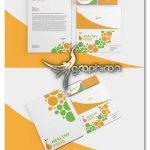 دانلود طرح لایه باز پک ست اداری Corporate Stationery Pack