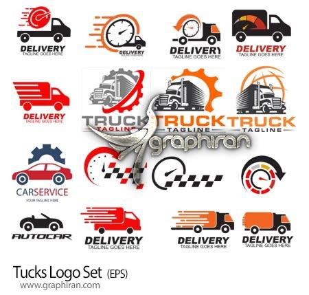 دانلود مجموعه تصاویر لوگو وکتور کامیون