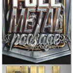 اکشن فتوشاپ افکت فلز 3 بعدی Full Metal Package 3D Photoshop Actions