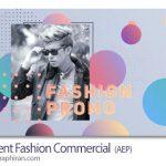 دانلود پروژه افتر افکت تیزر تبلیغاتی لباس و فشن Gradient Fashion Commercial