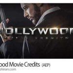 دانلود پروژه افتر افکت عنوان بندی سینمایی Hollywood Movie Credits