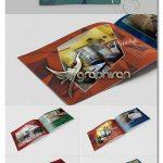 طرح لایه باز کاتالوگ دکوراسیون داخلی Interior Portfolio Template