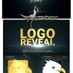 پروژه آماده افتر افکت نمایش لوگوی خرد شده Shattered Golden Logo