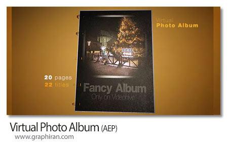 دانلود پروژه افتر افکت آلبوم عکس مجازی