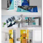 دانلود پک طرح های لایه باز بروشور 3 لت تبلیغاتی برای ایندیزاین