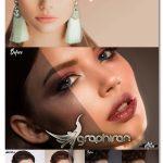 دانلود اکشن ، پریست و لات های روتوش پوست Perfect Skin Photoshop Actions