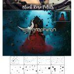 دانلود تصاویر پوششی گلبرگ گل مشکی ۵K Black Rose Petals Overlays