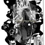 اکشن فتوشاپ افکت پوستر جوهری انتزاعی Abstract Ink Poster Photoshop Action