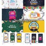 دانلود پروژه افتر افکت بازگشایی مدارس Back To School Pack