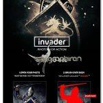 اکشن فتوشاپ افکت عکس تهاجمی Invader Photoshop Action