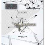 دانلود براش فتوشاپ شبکه شیشه ای Plexus Glass Shapes Photoshop Brushes