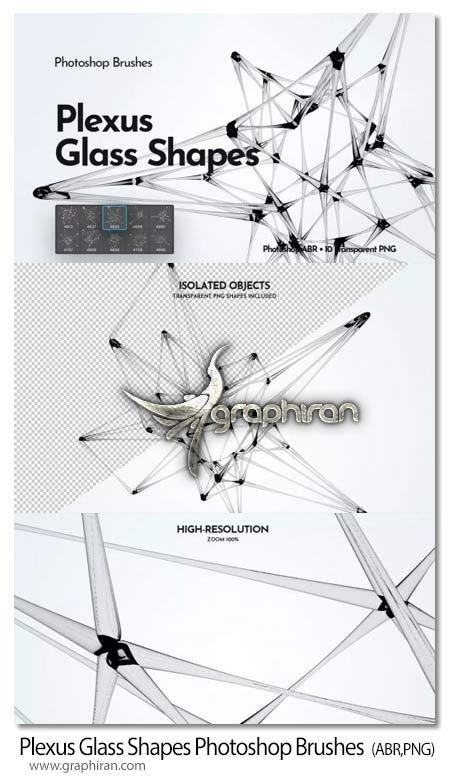 دانلود براش فتوشاپ شبکه های شیشه ای