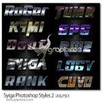 دانلود پک 10 استایل ویژه فتوشاپ Syiga Photoshop Styles 2