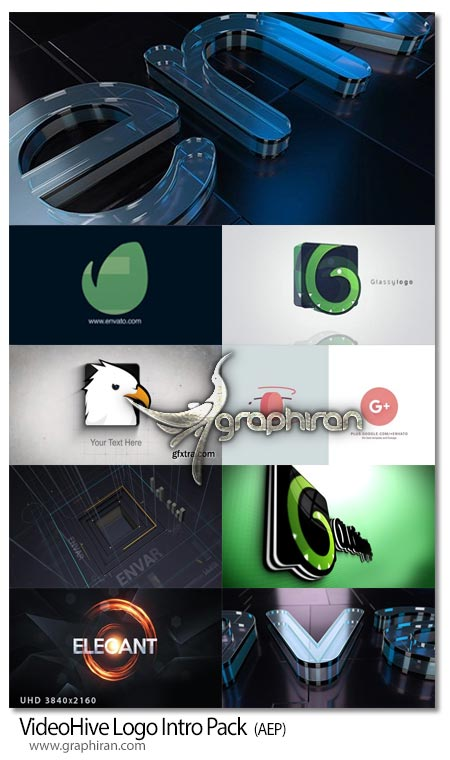 دانلود رایگان 8 پروژه آماده افتر افکت نمایش لوگو