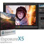 دانلود نرم افزار ادیت و مدیریت عکس Alien Skin Exposure X5 Bundle 5.0.2.99