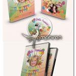 دانلود طرح لایه باز کاور دی وی دی تولد کودک Kids Birthday Party DVD Covers