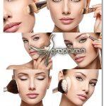 دانلود تصاویر استوک زن و لوازم آرایشی با کیفیت بالا محصول Adobe Stock
