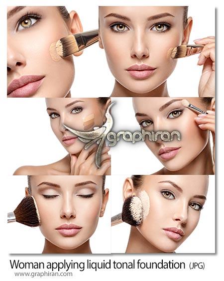 دانلود 6 عکس استوک زن و لوازم آرایشی با کیفیت بالا