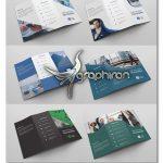 دانلود 6 طرح لایه باز بروشور 3 لت تجاری و تبلیغاتی فایل PSD فتوشاپ