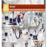 دانلود 10 عکس استوک دکتر با گوشی پزشکی Fotolia Doctor UHD Stock Photo