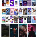 دانلود کیت عظیم پروژه افترافکت استوری اینستاگرام Instagram Story Pack V5