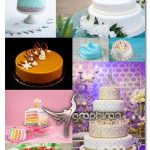 تصاویر استوک کیک عروسی و تولد کیفیت فوق العاده Cake UHQ Stock Photos