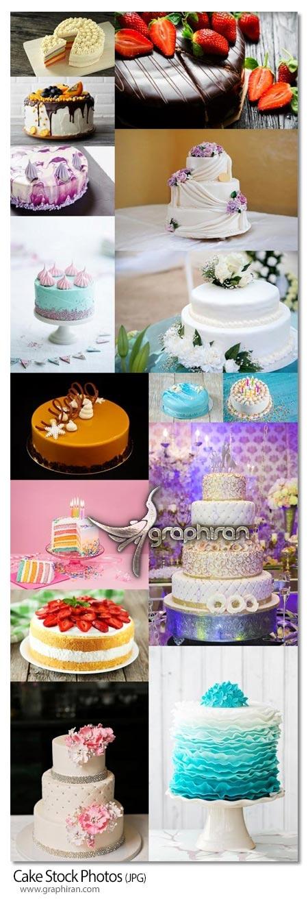 دانلود تصاویر استوک کیک عروسی و تولد کیفیت فوق العاده