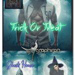 اکشن فتوشاپ ساخت صحنه ترسناک هالووین Halloween Photoshop Action