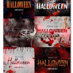 افکت متن ترسناک هالووین برای فتوشاپ Halloween Horror Text Effect