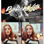 ابزار فتوشاپ ساخت افکت بوکه با رنگ های مختلف Bokeh Kit For Photoshop