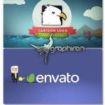 دانلود 2 پروژه افترافکت نمایش کارتونی لوگو Cartoon Logo Reveal