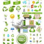 دانلود تصاویر وکتور محیط زیست و حفاظت از اکولوژی و آلودگی کره زمین