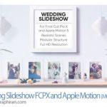 دانلود پروژه اپل موشن و فاینال کات اسلایدشو عروسی Wedding Slideshow