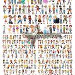 دانلود تصاویر وکتور کارتونی کودکان Children Characters Vector Set