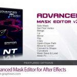 دانلود Advanced Mask Editor v2.2 اسکریپت افترافکت ویرایشگر ماسک