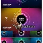 دانلود مجموعه پروژه آماده اکولایزر افترافکت Audio React Spectrum Music Visualizer