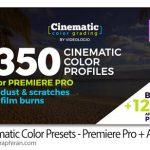 دانلود 350 پریست سینمایی پریمیر Cinematic Color Presets Premiere Pro