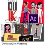 دانلود Duik Bassel.2 v16.2.2 اسکریپت افترافکت ریگ بندی کاراکتر و ساخت انیمیشن