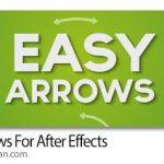 دانلود Easy Arrows v1.5 اسکریپت افترافکت جهت یابی خودکار المان ها به مسیر