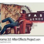 دانلود پروژه جدید افترافکت نمایش عکس با انیمیشن های زیبا Fast Promo 3.0