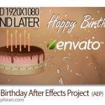 دانلود پروژه افترافکت جشن تولد و تولدت مبارک Happy Birthday
