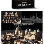 دانلود پک مدل های سه بعدی خاورمیانه Kitbash3D – Middle East