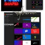دانلود مجموعه موشن گرافیک افترافکت و پریمیر Motion Shapes Pack V.2